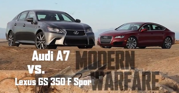 Video: Road and Track pins Audi A7 against Lexus GS