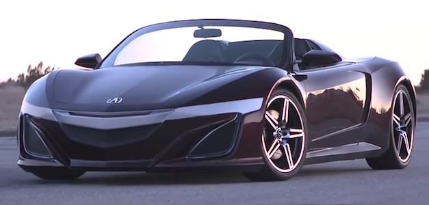 Great Video: Inside Line Drives Avengersu0027 Acura NSX Convertible, Finds Out Tony  Starku0027s Version Photo
