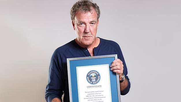 BBC2's Top Gear UK TV show takes Gunniess World Record, most watched factual show in the world