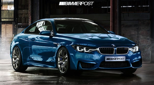 Report: BMW M4 rendered, will be faster and lighter than current M3 Coupe