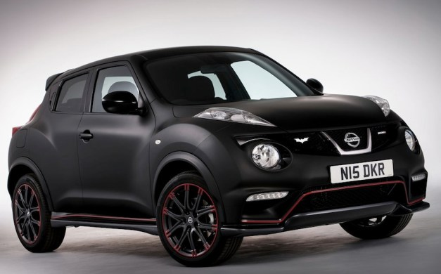 One-off Nissan Dark Knight Rises Juke Nismo celebrates the release of the movie on DVD