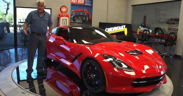 2014 Chevrolet Corvette Stingray stops by Jay Leno's Garage