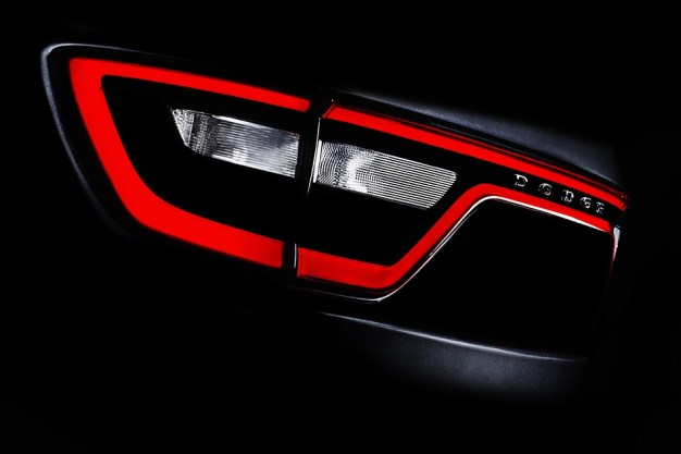 Dodge teases updated 2014 Durango crossover SUV ahead of NY, to reportedly get Jeep Grand Cherokee's turbodiesel