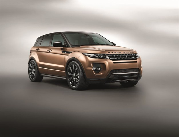Land Rover officially posts the updates for the 2014 Range Rover Evoque