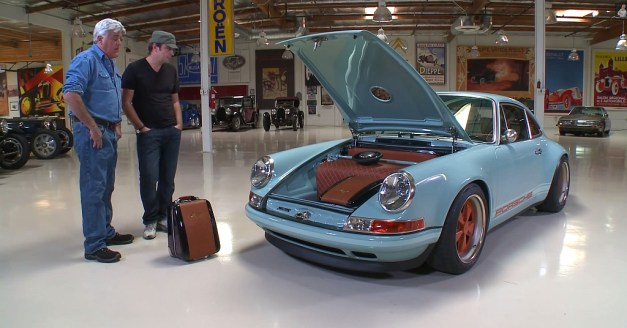 Video: Jay Leno's Garage features a 1991 Porsche 911 Type 964 revitalized by Singer