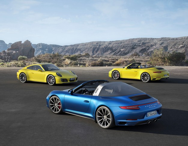Porsche follows up 911 update with new 911 Carrera 4 and Targa 4 variants