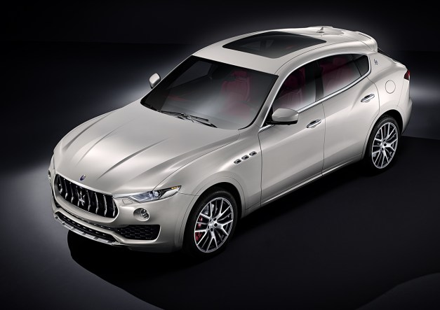 2016 Geneva Preview: The Maserati Levante goes official on the web