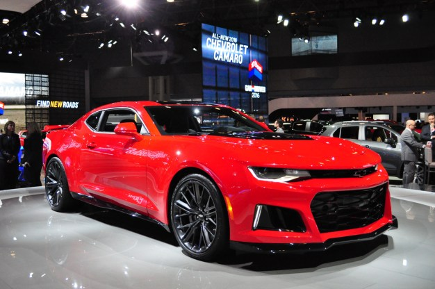 The 2017 Chevrolet Camaro ZL1 offers plenty of car for $62,135, Camaro 1LE detailed