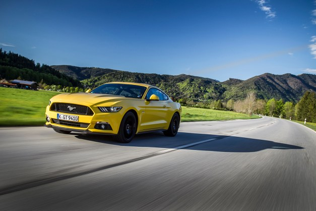 The Ford Mustang became the world's best-selling sports car around the globe in 2015