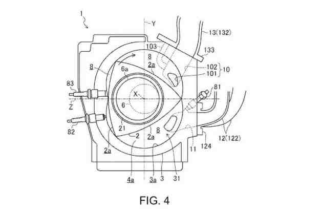 Report: Mazda files patent for new 400hp rotary engine
