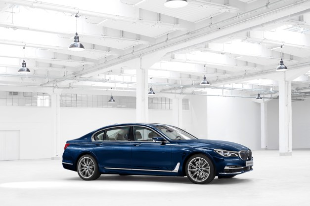 BMW unveils some special 100th anniversary edition 7-Series models with the most ridiculous names