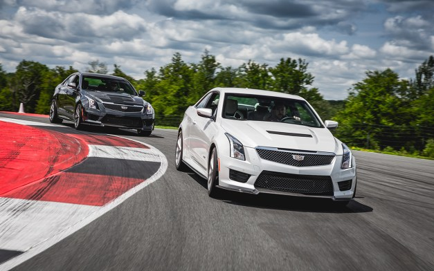 First Drive: A track day with the 2016 Cadillac ATS-V, the M3 BMW should be making