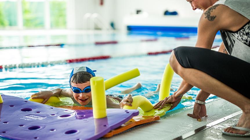 Approccio al Nuoto per l'infanzia