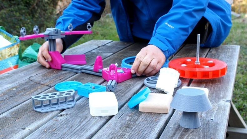 Fabricando piezas off-the-grid