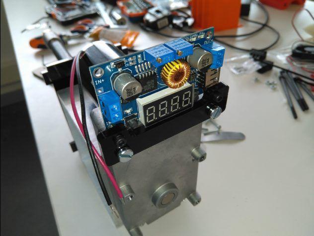 Electrónica Filastruder