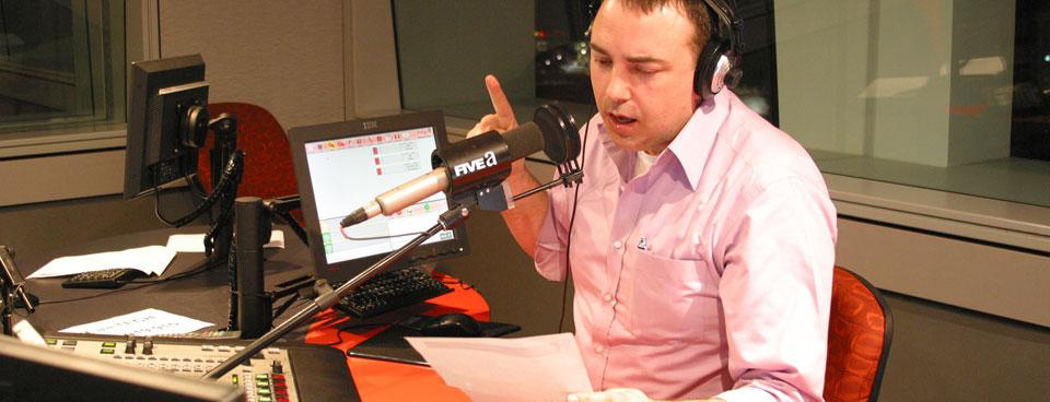 الانضمام لفريق عمل الراديو