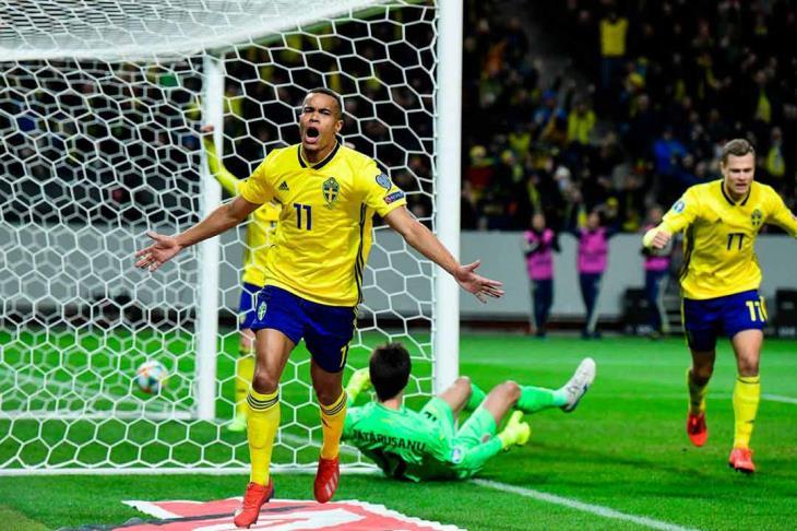 نتيجة مباراة السويد و مالطا