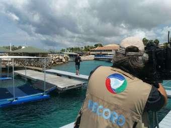 Equipe-da-Record-no-Sea-Aquarium-de-Curaçao-340x255 Title category