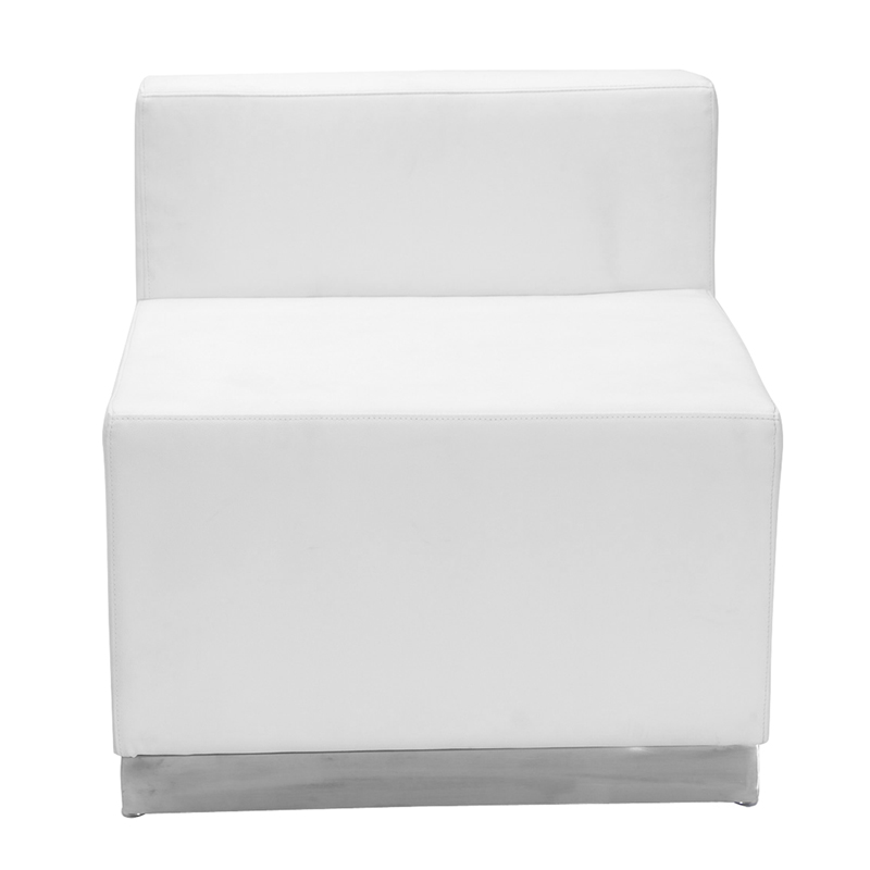 Ace Series White Chair Leather