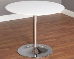 Club-cocktail-white-chrome-table-rental