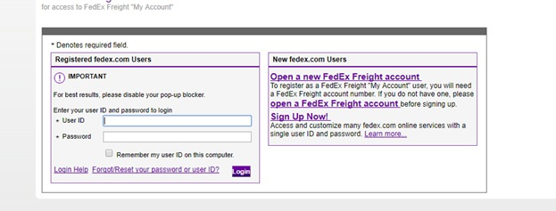 www.fedexfreight.com - Access Fedex Freight To File A Claim