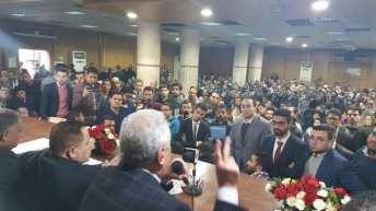 عاشور يفتتح معهد المحاماة بالقاهرة ، أرشيف