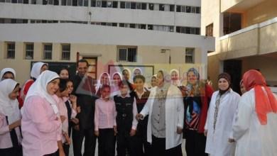 Photo of وكيل الوزارة بالبحيرة يتفقد مدارس دمنهور ويؤكد على النظافة والانضباط