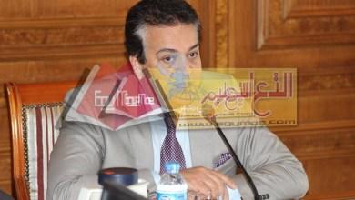 Photo of وزير التعليم العالي يستقبل أعضاء هيئة التدريس بكلية الطب جامعة عين شمس