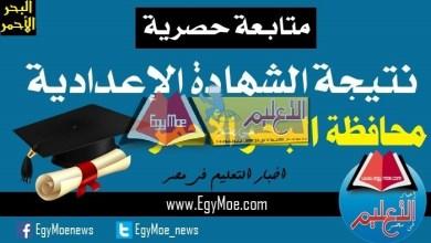Photo of ننشر نتيجة الدور الثاني للشهادة الإعدادية بمحافظة البحر الأحمر 2019