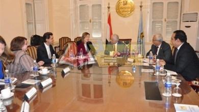 Photo of شوقي يستقبل مساعد وزير الخارجية الأمريكية للشئون التعليمية والثقافية