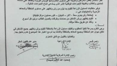 Photo of قطاع المعاهد الأزهرية : تطهير الفصول والطرقات والمقابض