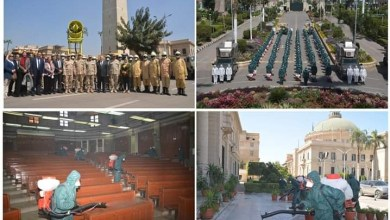 Photo of القوات المسلحة تعاون جامعة القاهرة لمجابهة فيروس كورونا