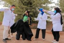 Photo of طلاب جنوب الوادي ينفذون ''فوتو سيشن'' لمكافحة كورونا