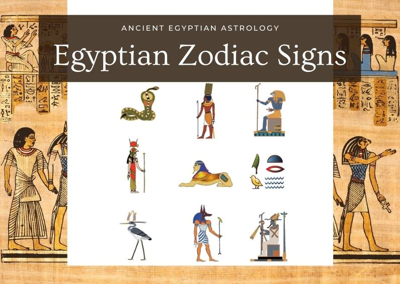 Egyptian Zodiac Signs