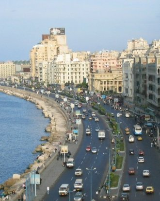 Transfer from El Alamein to Alexandria
