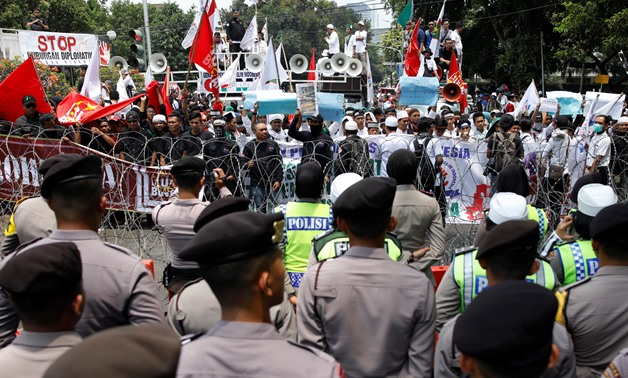 Thousands Of Indonesians Join Anti Myanmar Rally In Jakarta Egypttoday