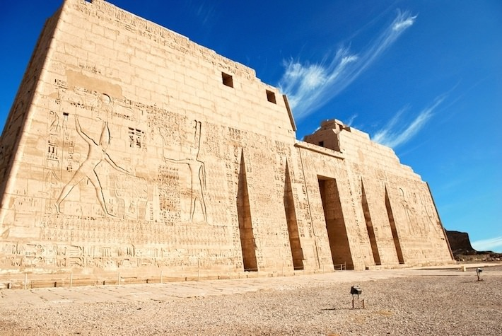 Bilderesultat for medinet habu temple