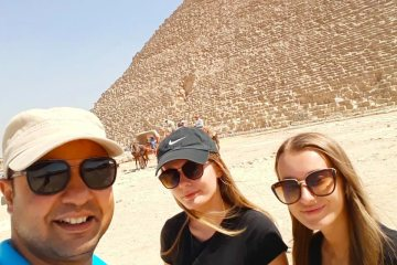 Giza Pyramids Complex - 4 Days Cairo and Luxor Vacation - Egypt Tours Portal