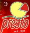 Logo pizzeri Presto