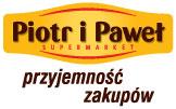 Logo delikatesów Piotr i Paweł