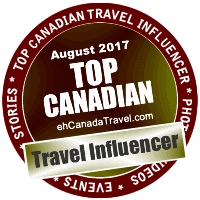 eh Top Canadian Travel Influencer in August