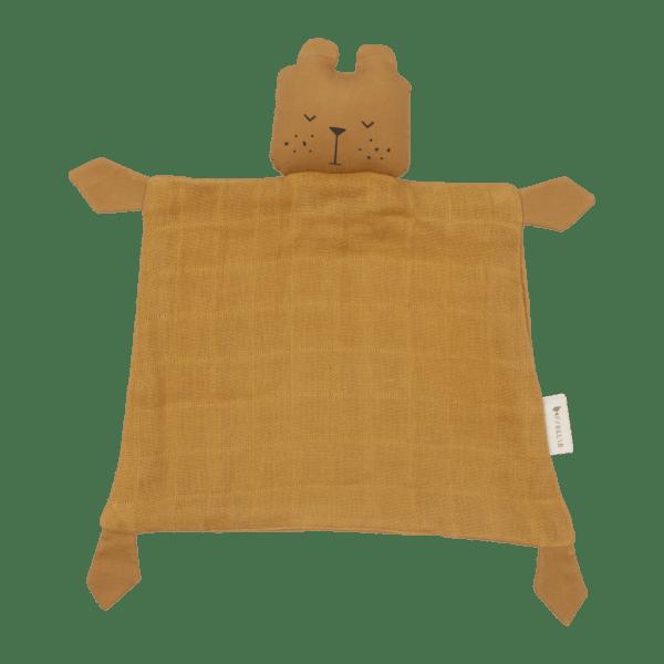 doudou animal urso em ocre