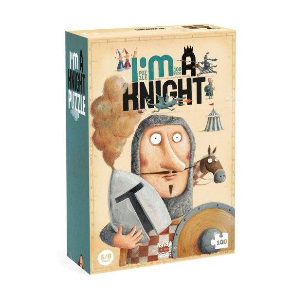 Puzzle I'm a Kinght Sou um cavaleiro da Londji 100 Peças