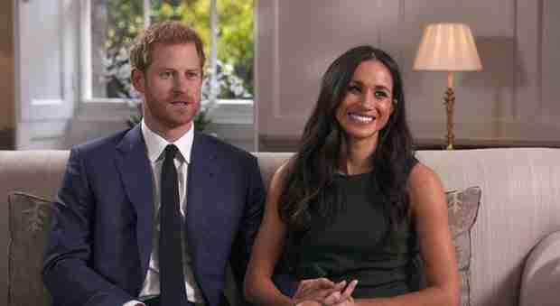 Gb:Harry e Meghan sposi