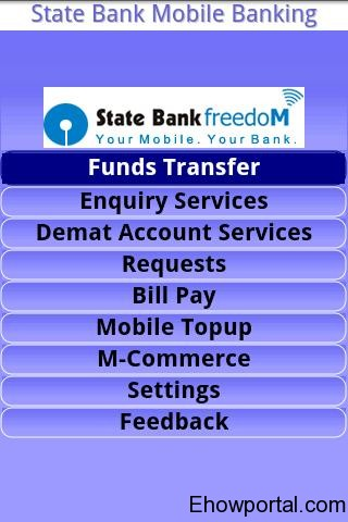 SBI freedom apps for android
