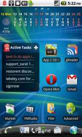 Customizable Desktop widget