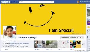 Bhavesh Sondagar Facebook timeline cover