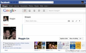 Google plus Facebook timeline cover