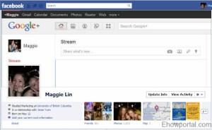 Google plus Facebook timeline cover