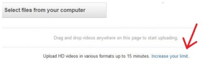 Uploading larger videos on YouTube